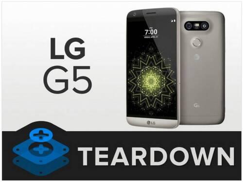 LG G5는 속까지 모듈? 수리 점수 및 부품 스펙 정리