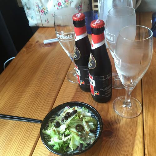 벨기에 맥주와 김치돈까스 나베.. 연남동 나베식당