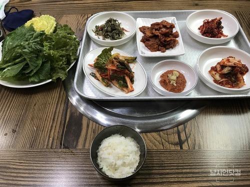 예천맛집 새골목식당 주물럭떡국정식 가성비 짱