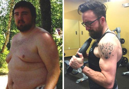 체중계라면 질색하던 남자가 60kg를 뺀 사연