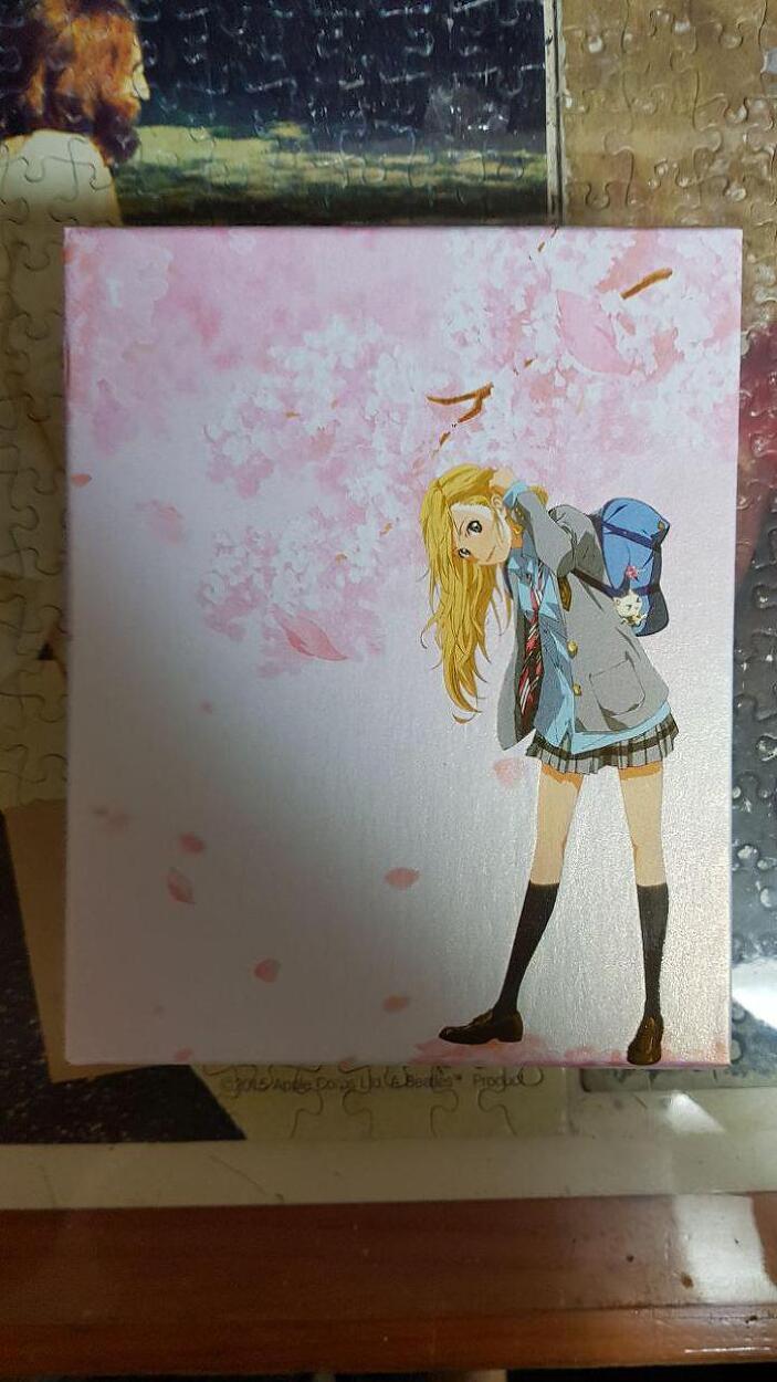 [블루레이]4월은 너의 거짓말-벚꽃 에디션을 구입했습니다.