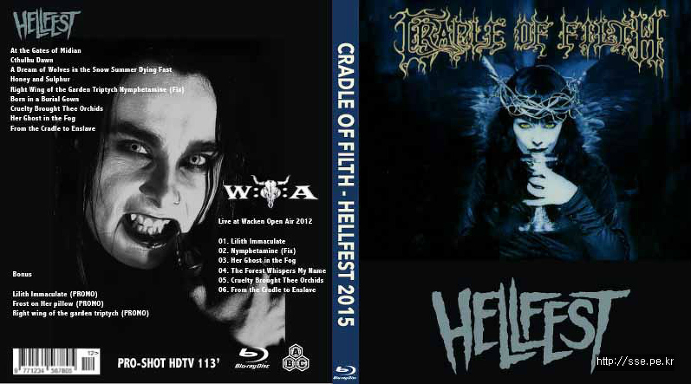 Cradle Of Filth - Hellfest 2015