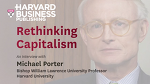"Rethinking Capitalism - ""Creating Shared Value"" by Michael Porter."