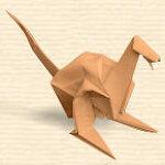공룡 종이접기