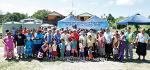 국제위러브유운동본부(장길자회장님)  - 투발루에 물펌프지원!!