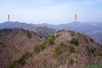 괴산 청화산 : 눌재 ~ 정상 ~ 시루봉 ~ 쌍용계곡휴게소