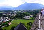 오스트리아- 잘츠부르크 상징 호헨잘츠부르크 성과 대성당