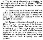 유엔 결의 11호 조항 - 퇴임 직후 정부직