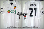 02/03 Valencia Home S/S No.21 Aimar - UCL Ver. (SOLD OUT)