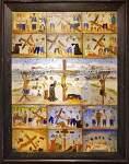 필리핀 현지 사람의 얼굴을 한 예수와 그의 제자들.. (그림)