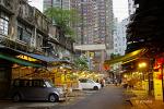 홍콩의 과일 도매시장 구경.