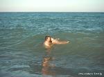 스페인에서는 갓난아기도 해수욕을 한다?