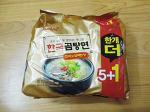 [라면 리뷰]삼양 한국곰탕면 먹어본 후기