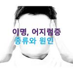 이명, 머리 어지럼증의 종류와 원인