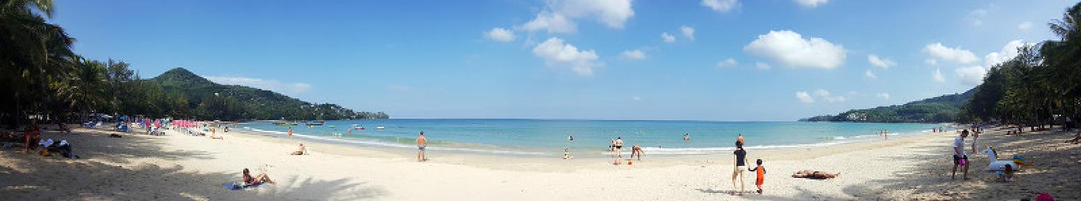 태국 푸켓 - 썬윙 카말라 비치 리조트(Sunwing Kamala Beach Resort) - 바닷가