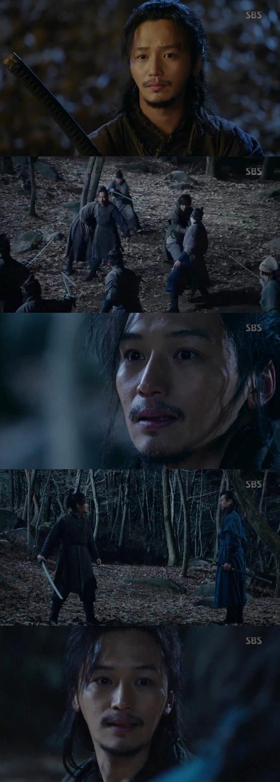 육룡이 나르샤, 대치 + 무휼의 빛나는 '무사케..