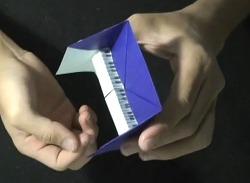 피아노 종이접기 동영상입니다.