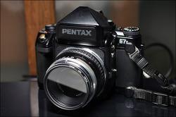 PENTAX 67 II, Opton Pl 80mm 2.8
