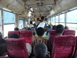 탄자니아 [모시] 동네 로컬버스 구경.