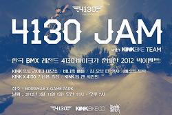 4130 JAM with KINKBIKE Team