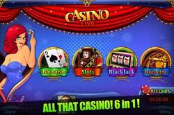 Casino Live - Slots, Blackjack, Roulette, Baccarat and Jackpot!