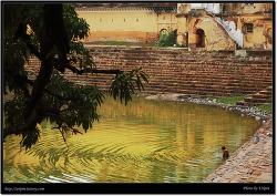 잔시.카주라호 마을풍경 (Khajuraho, India)