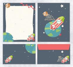 #201503 : letter set design