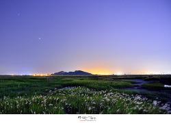 수섬 야경