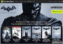 배트맨 게임 시리즈 모음이 만원? 스팀 Batman Arkham Complete Bundle - 번들스타즈 구매방법