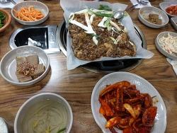 """시청앞 """"청진만남""""-오징어 불고기"""