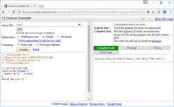 자바스크립트 옵티마이저 - Closure Compiler