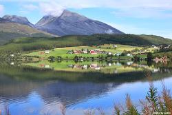 노르웨이 여행: 반영