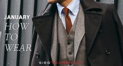1월. 레이어드 룩, 넥타이, 터틀넥 스웨터 활용법 - 대한민국 남자 패션의 상향 평준화를 위한 지침서