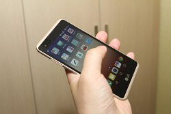 LG X Skin 실제 사용 느낌은 중저가형 스마트폰