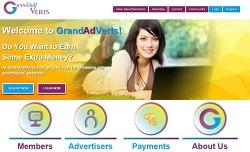 [무료 달러 벌기] Grandadverts.com 검증완료 SCAM