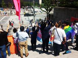 국제성소수자혐오반대의날 캠페인과 인권/시민·사회/정당 기자회견 후기