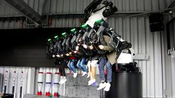 에버랜드의 새로운 어트랙션 로봇VR 만나 보자!