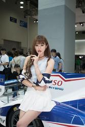 [16.06.05] 부산국제모터쇼 도요타 레이싱모델 정채원 직찍 #2 by BlastofWind