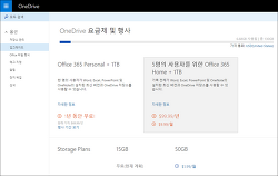 OneDrive 행사: Office 365 Personal + 1TB가 1년 동안 무료!
