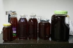 효소 거르기 - 당귀효소, 오디효소, 매실효소