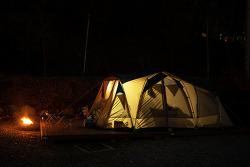 [캠핑스케치.007][2016-11-11~13] 용인 싱글벙글 캠핑장, 동계장박 텐트 사이에서...