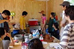 태양열 냉장고(솔라프리지) 설치