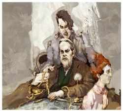힌데미트(Hindemith, Paul)의 오페라 카르디야크(cardillac) 일러스트