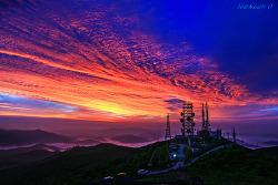함백산 여명