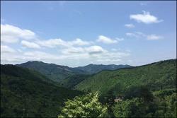 20180610 한남금북정맥 (쌍암재-선두산-현암삼거리)