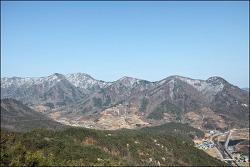 20180310 승무산 (경북상주) (아기자기한 바위산)