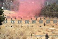 신병 1230기 3교육대 극기주 - 각개전투 훈련
