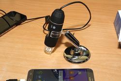스마토이 디지털 현미경 50배 500배 아이폰X 확대 해서 보면