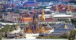 다비식 기간 태국여행 주의하세요 - 태국 푸미폰 국왕 라마9세