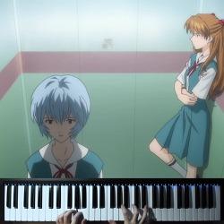 【조용피아노】 에반게리온 레이 ii 브금 BGM 피아노 Evangelion Rei ii Piano OST
